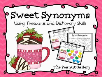 Sweet Synonyms (Color Coding Thesaurus and Dictionary