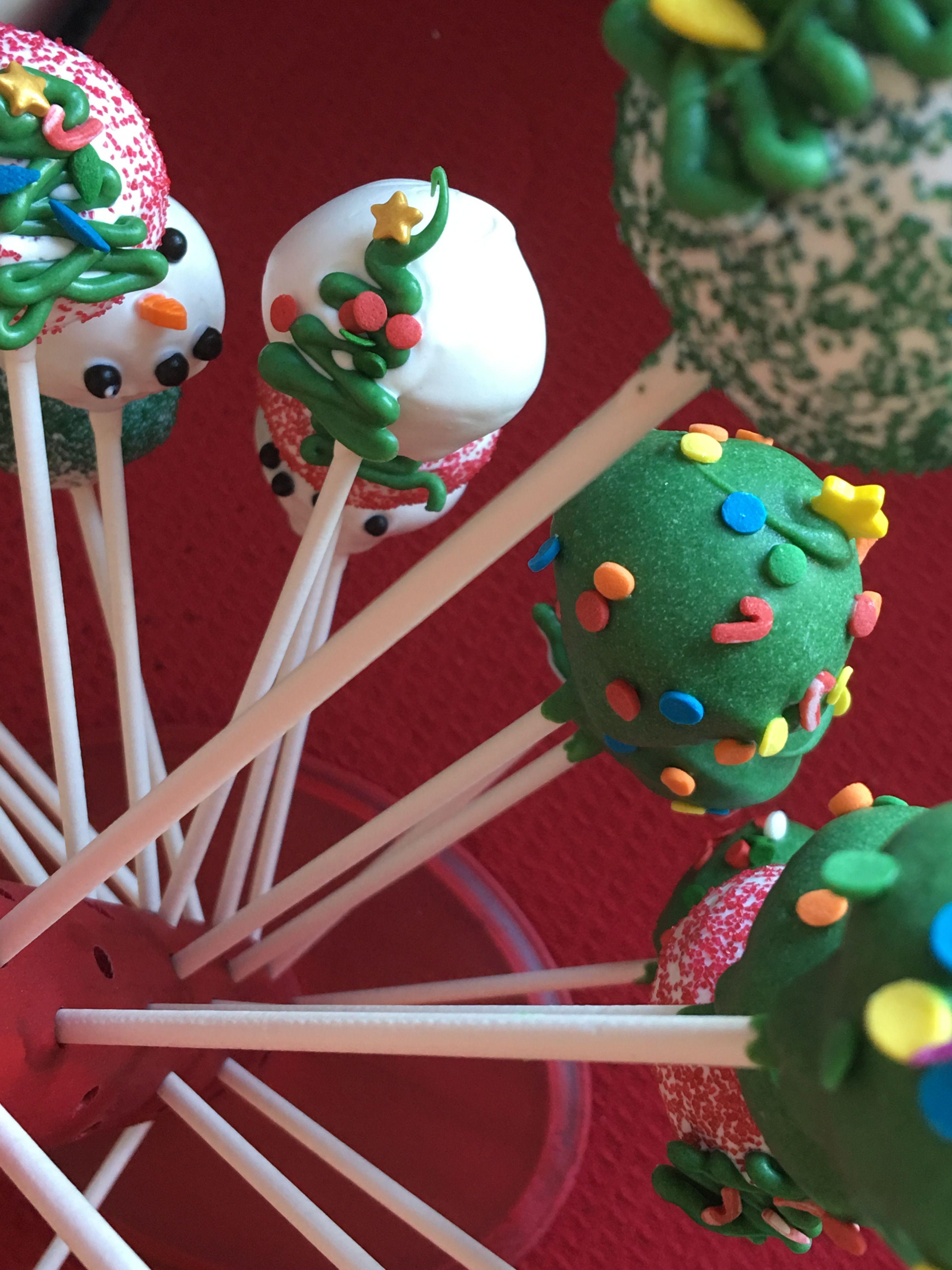 Christmas cake pops christmas cake pops cake pops