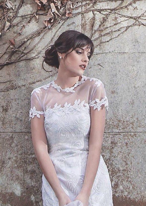7e47f39a61 Maquillaje de novia de día