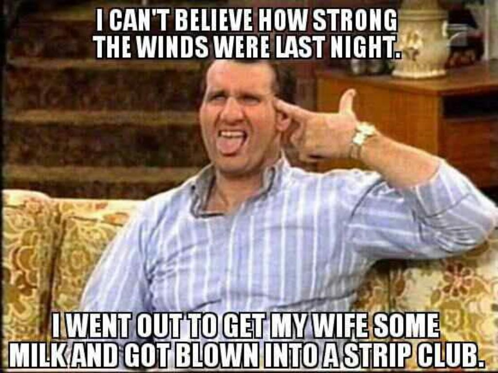 Al Bundy was a gangster!!!!