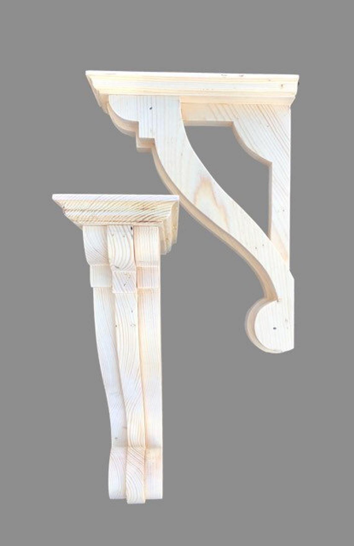 Ornate Wooden Corbel Delicate Carved Corbel Shelf Bracket Shelf Support Shelf Bracket Victorian Shelf Country Decor Wooden Corbels Wood Shelf Brackets Wooden Brackets