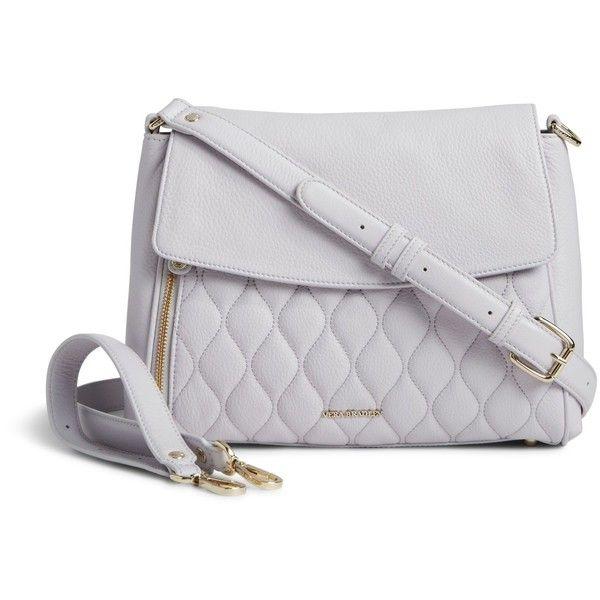 Vera Bradley Quilted Cara Convertible Bag In Cloud Gray