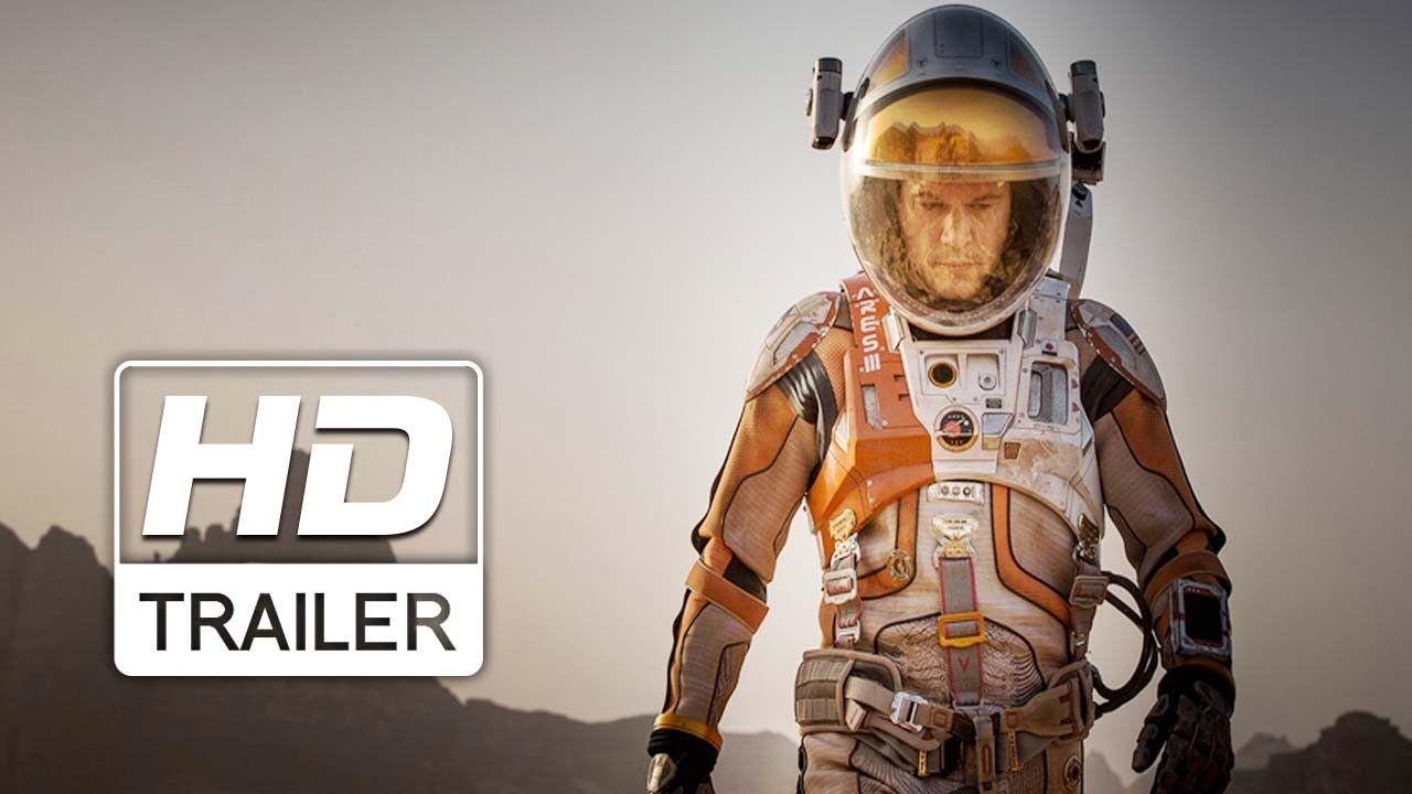 Perdido em Marte | Trailer Oficial Legendado | HD | Trailer oficial,  Trailer, Filmes de ação