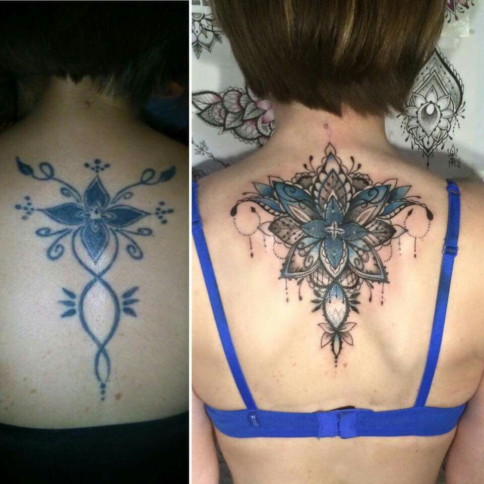 Back Shoulder Tattoo Cover Up Cover Up Tattoos Cover Tattoo Neck Tattoo Cover Up