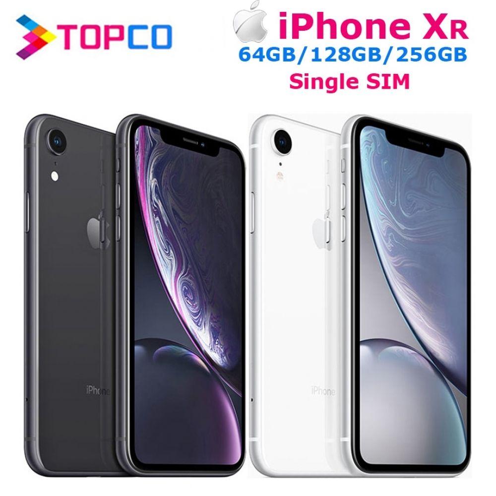 Apple iphone xr factory unlocked original mobile phone 4g