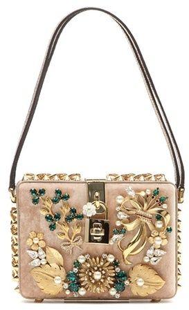 Dolce & Gabbana Verzierte Tasche Dolce Aus Samt