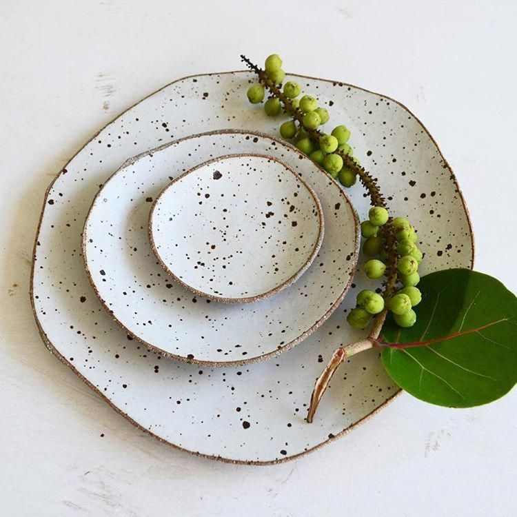 Simplicity.. #ceramics #pottery #handmade #stoneware #plates #ceramicdesign #ceramicstudio #australianceramics #PotteryParty