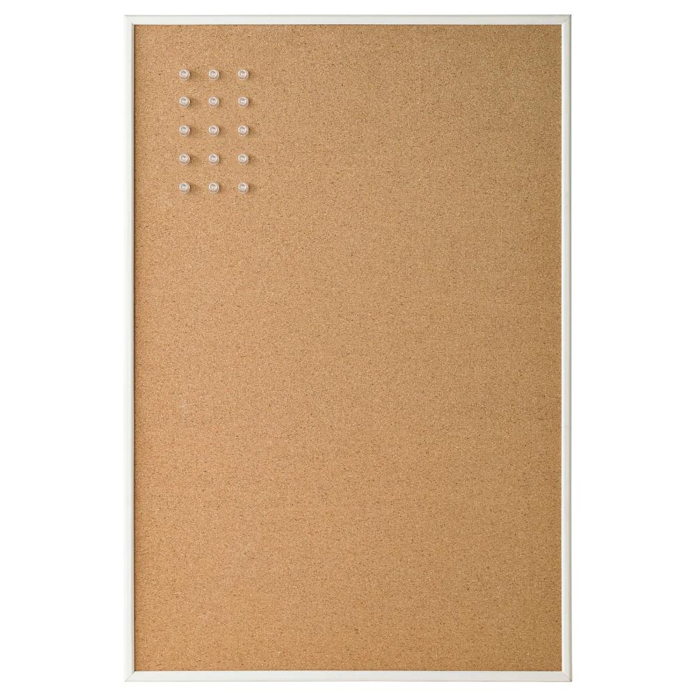 Vaggis Tableau Memo Avec Epingles Blanc 58x39 Cm En 2020 Tableau Affichage Tableau Memo Et Ikea