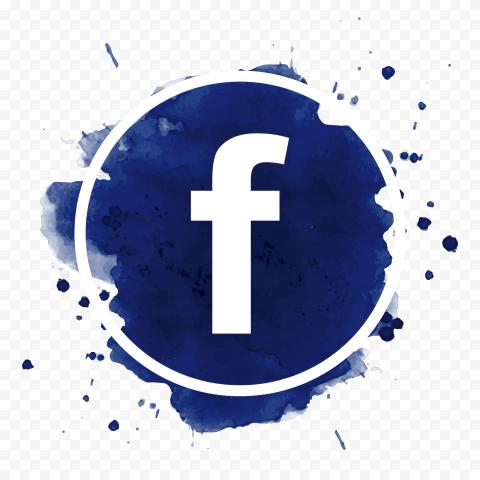 Round Blue Splash Facebook Fb Logo Icon Design Citypng In 2021 Logo Icons Icon Design Fb Logo Png