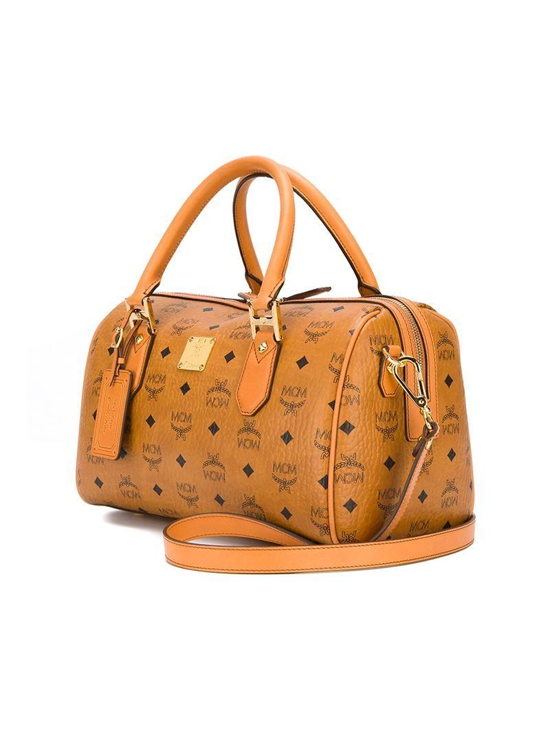 7a4123332832 Women's Natural Logo Bowling Tote Bag | MCM Bag Wear | Bags, Mcm ...