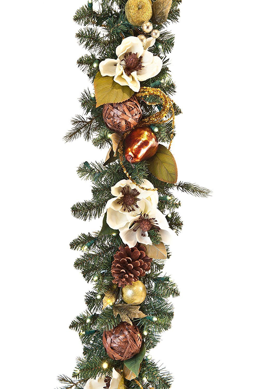 6 Classic Green Mixed Long Needle Pine Artificial Christmas Garland - Unlit - Walmart.com