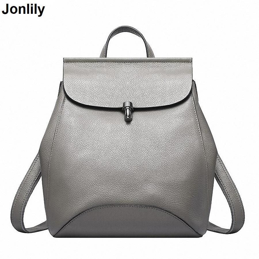 44c8f14d34b9 Luxury Backpack For Women Genuine Leather Bag Pack For Teenage Girls Famous  Brand Cross Body Backpack Wholesale SLI-158. Yesterday s price  US  51.16  (44.89 ...