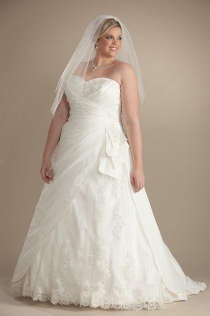 Monique Plus Size Wedding Dresses