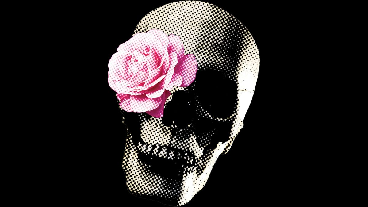 Flower Skull is a T Shirt designed by vansparrow to illustrate your life and is available at Design By Humans