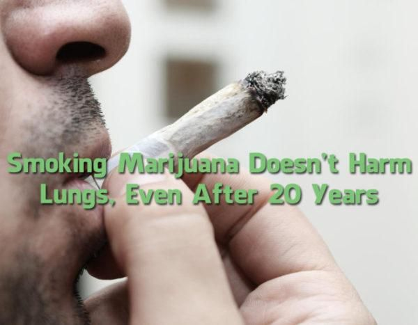 Largest Ever Study On Marijuana Reveals Smoking It Does Not Damage The Lungs, Rather Improves It