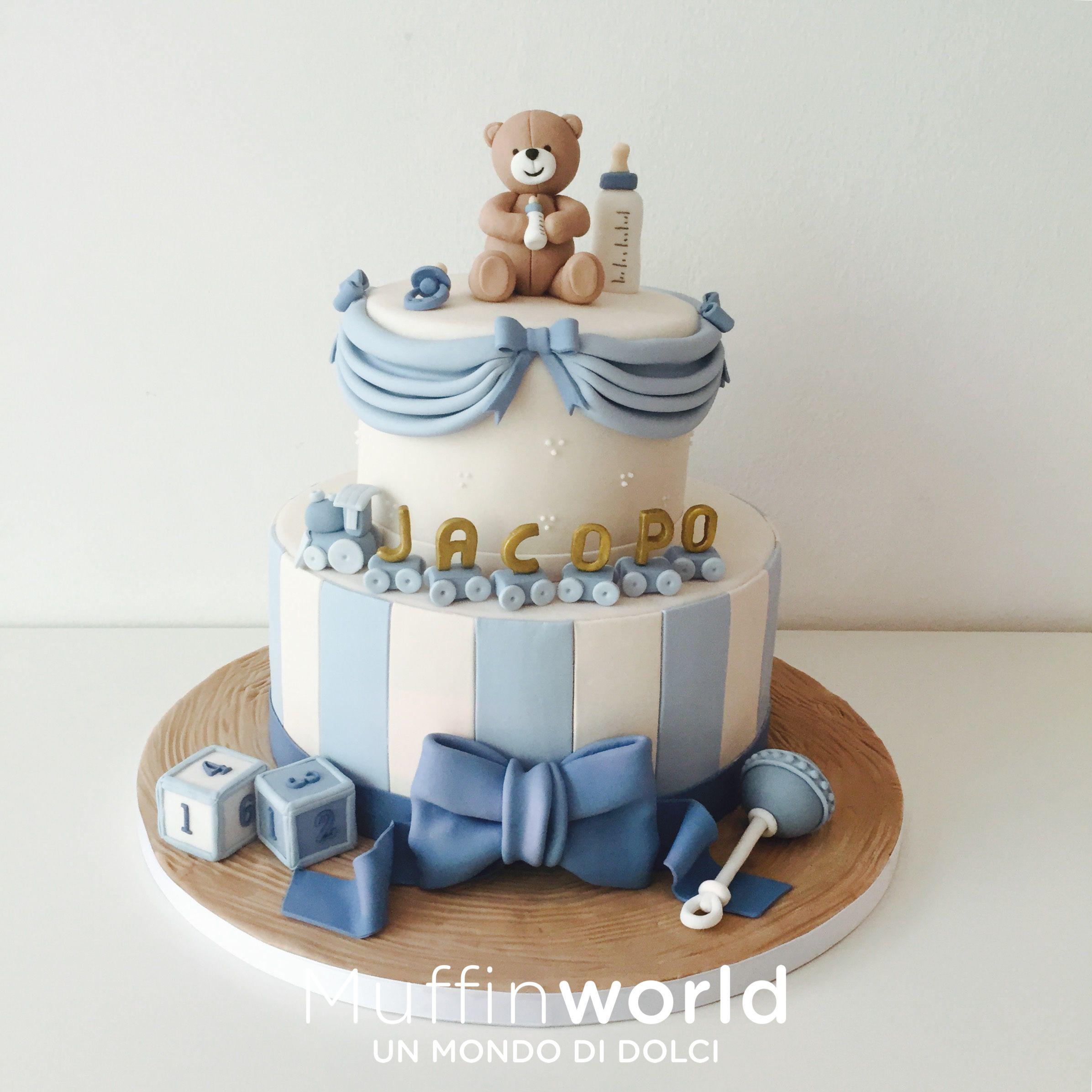 foto de Torte di battesimo e baby shower Muffinworld My cakes