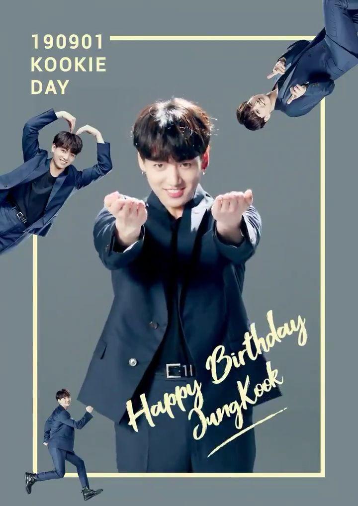190901 #BTS twt update #HappyJungkookDay