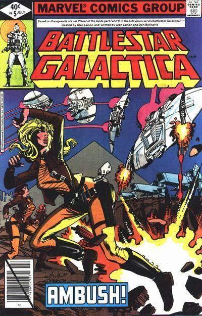 Marvel Comics     Battlestar Galactica #3   1979       VF