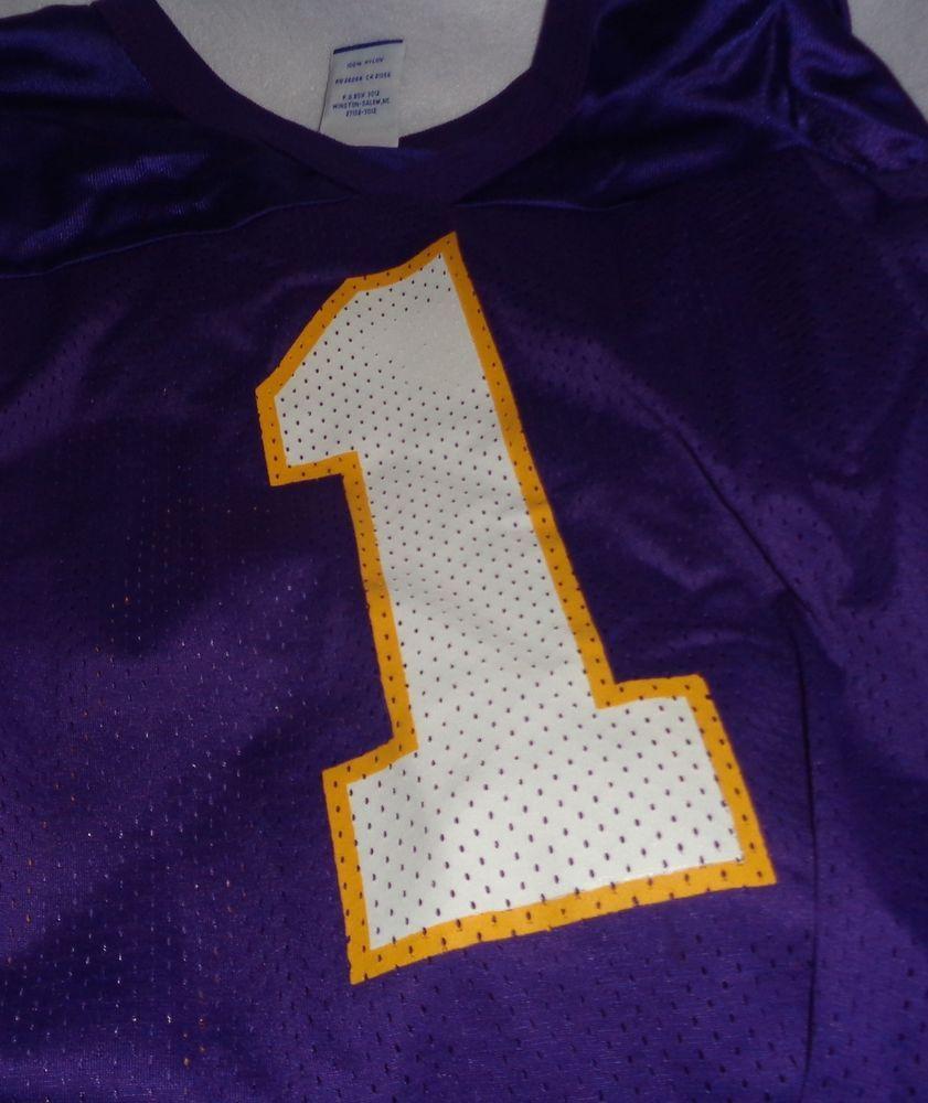 Minnesota Vikings Football NFL Warren Moon Jersey #1 Champion Men's