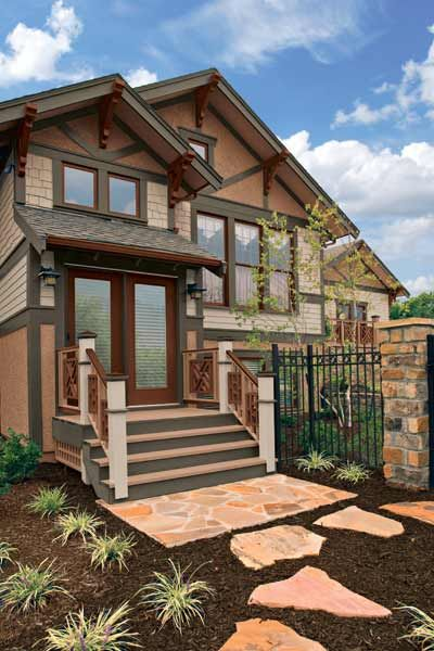 Exterior colors for craftsman style house home design for Craftsman style homes in okc