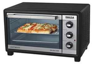 Amazon-Inalsa Kwik Bake 1500-Watt 24-Litre OTG with Motorized Rotisserie worth Rs.6895 at Rs.4165 Only