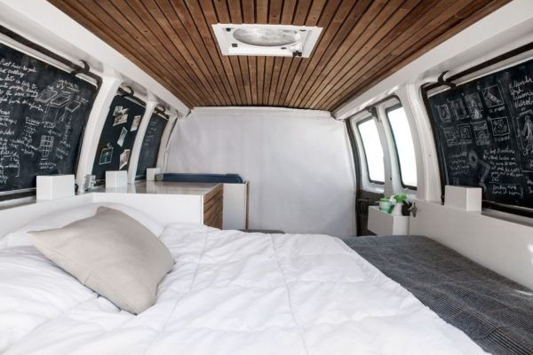 23 Year Old Filmmakers Cargo Van Tiny House 002