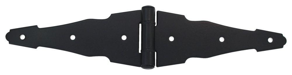 6 inch black strap hinge strap hinges hinges black