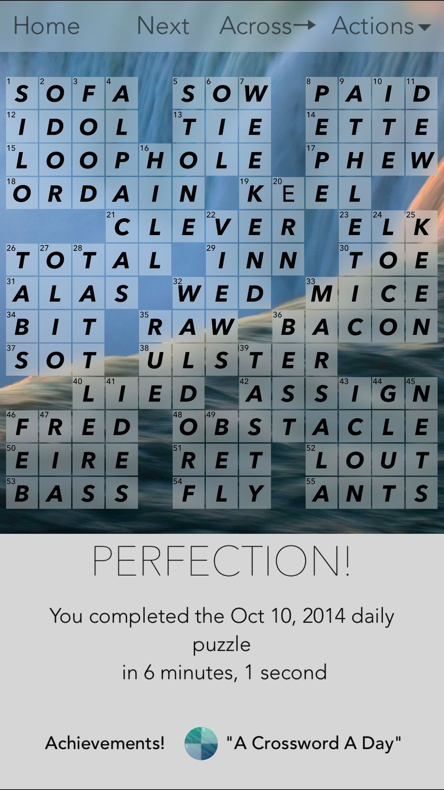 Crossword Puzzles! LifestyleWordappsios (With images