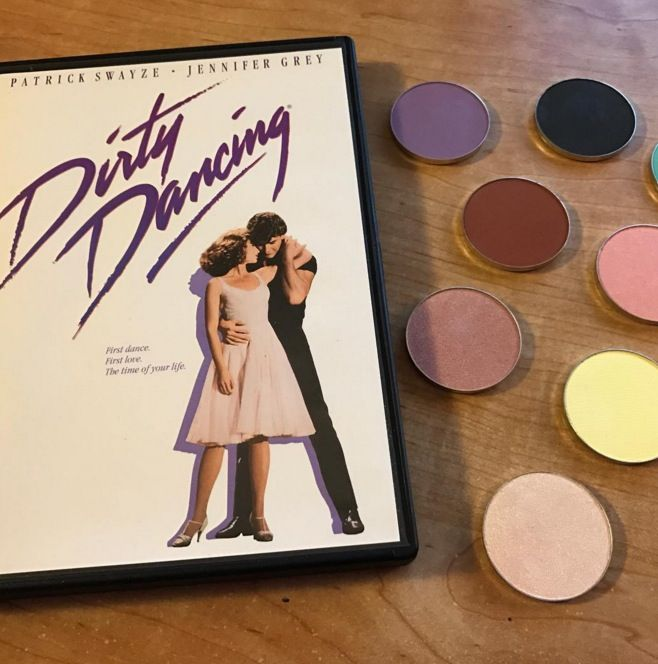 There's going to be a Dirty Dancing eyeshadow palette