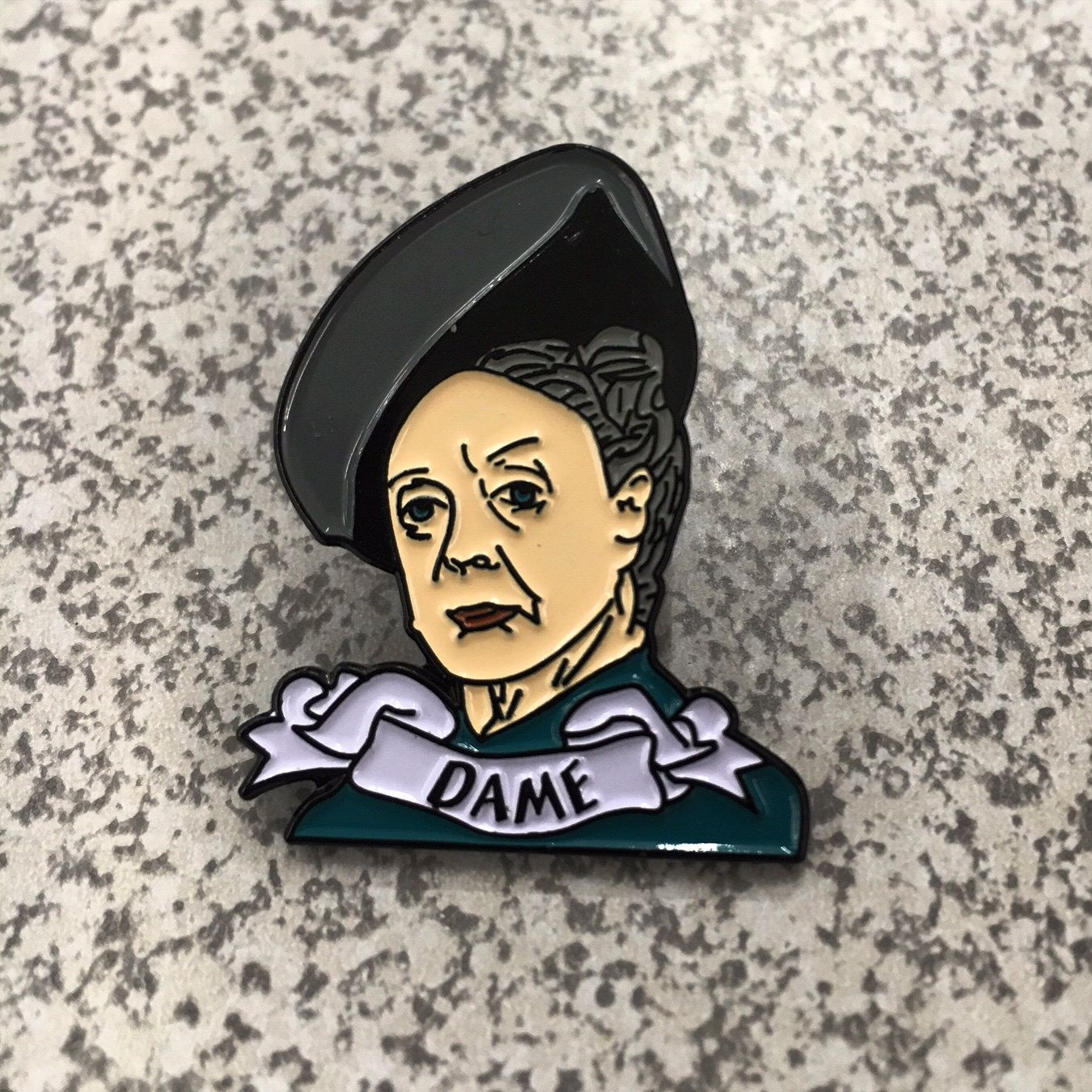 Dame Maggie Smith   **Limited to 100** by LorettaPinn on Etsy https://www.etsy.com/listing/459597638/dame-maggie-smith-limited-to-100