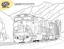 Real Train Coloring Pages Coloring Pages Trains4kids Magazine
