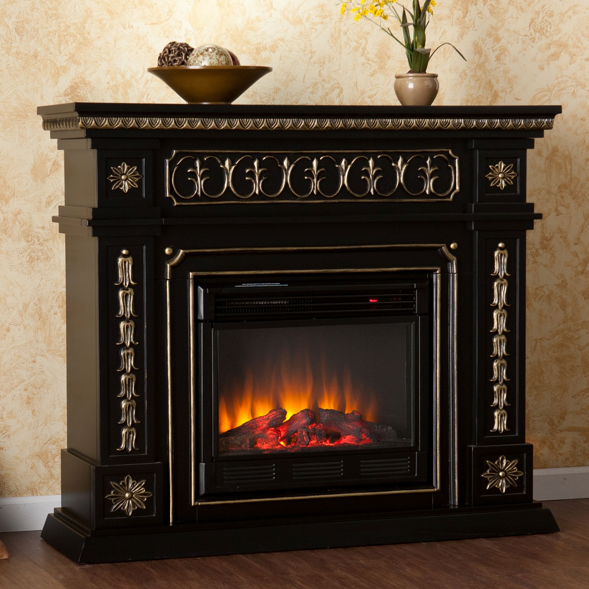 Real Flame Gabrielle Electric Fireplace Great Installation Of