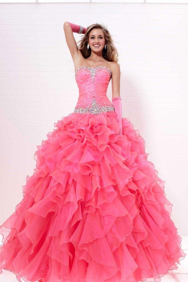 Shop quinceanera dresses ball gown strapless floor length