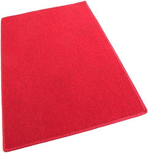 6x9 RED ECONOMY POOL PATIO Indoor Outdoor Carpet Rugs Runners Mats ...