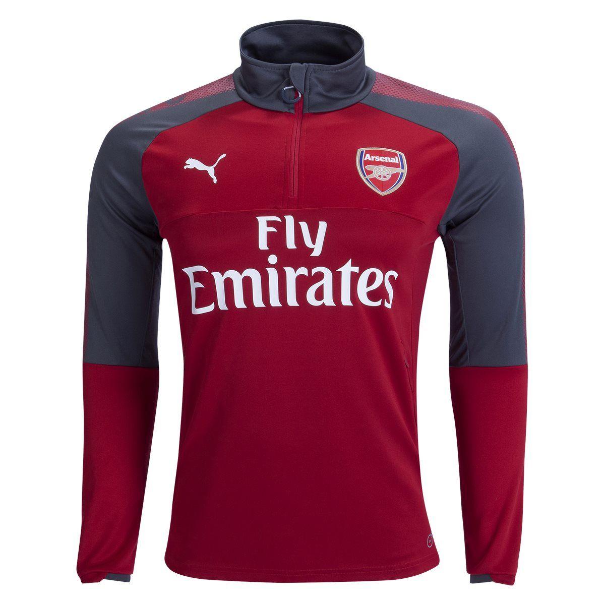 PUMA Arsenal Long Sleeve Home 1 4 Top 17 18  c7766baff