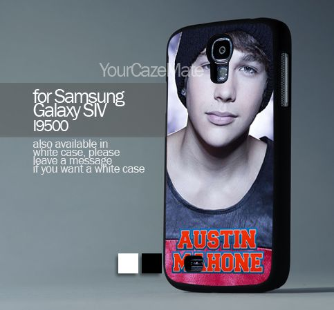 Austin Mahone With Signature, For Samsung s4 Hard Plastic Black | YourCazeMate - Accessories on ArtFire