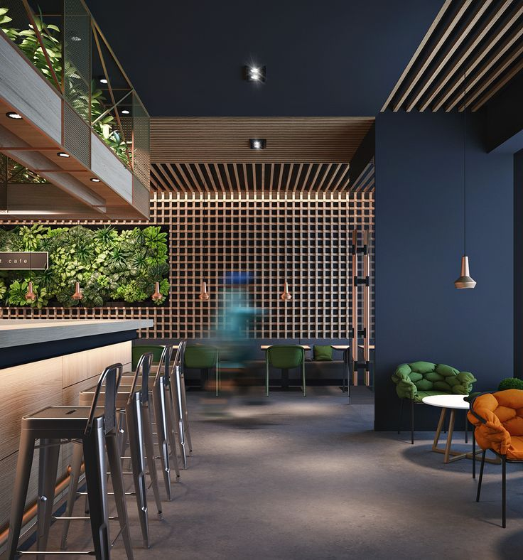 Restaurant Interior Design Coffee