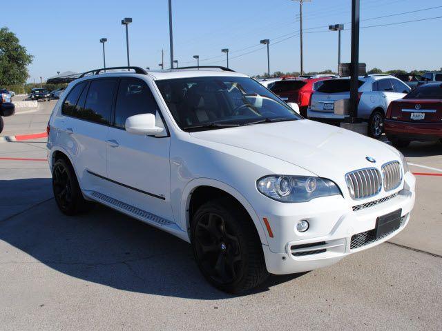 bmw x5 2007 white suv 4 8i gasoline 8 cylinders all whee