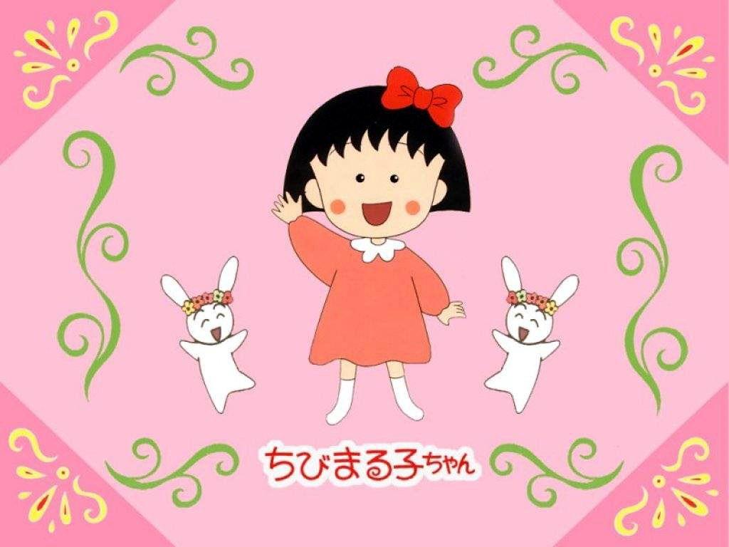 La simpática Maruko, protagonista de las comiquitas manga japonesas, Chibi Maruko Chan que nos contará sus historias junto a sus amigos y familia ---- The friendly Maruko, star of the Japanese manga cartoons Chibi Maruko Chan, Join in their stories with friends and family