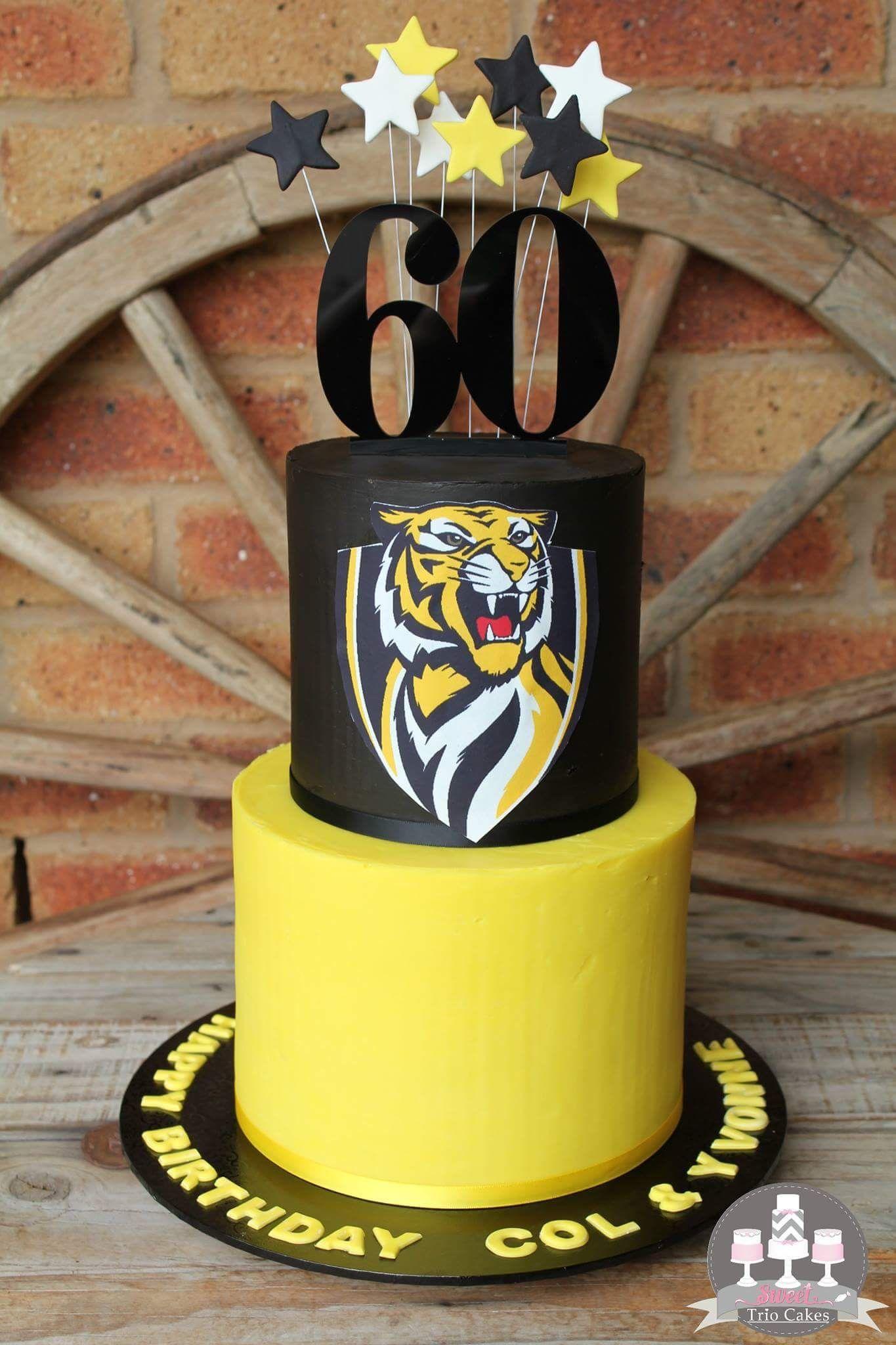 Richmond Tiger Cake Orders Pinterest Cake Tiger Cake And