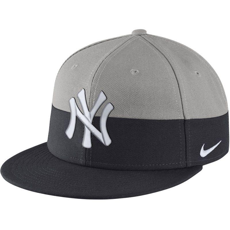 cb38cb822 New York Yankees Nike True Color Snapback Adjustable Hat - Gray/Navy ...
