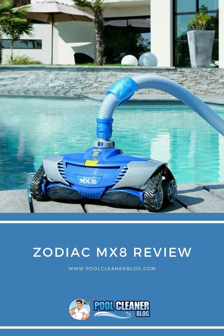 Zodiac Mx8 Suction Side Pool Cleaner Review In 2020 Zodiac Mx8 Zodiac Pool Pool Cleaning