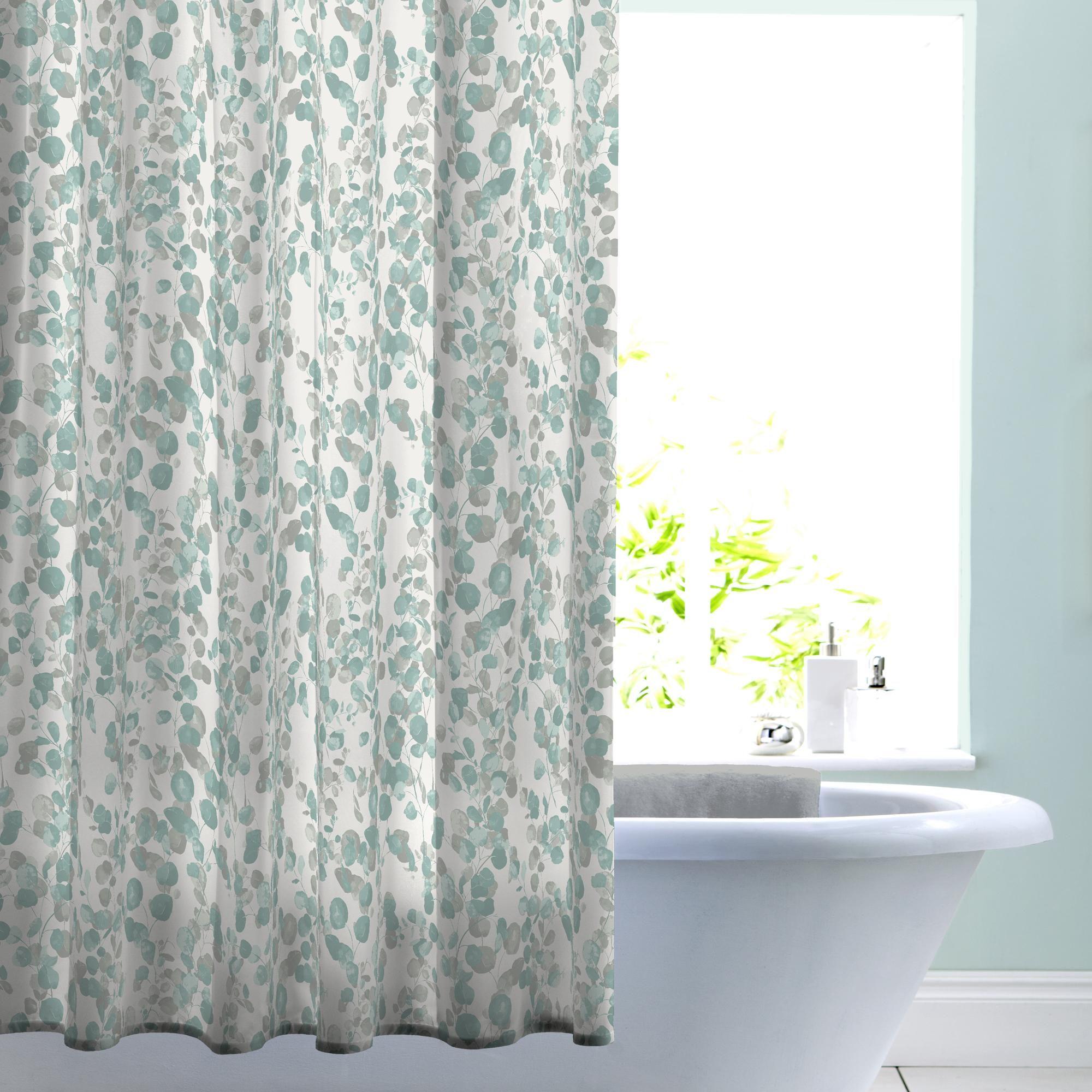 Eucalyptus Shadow Shower Curtain Curtains Curtains Dunelm