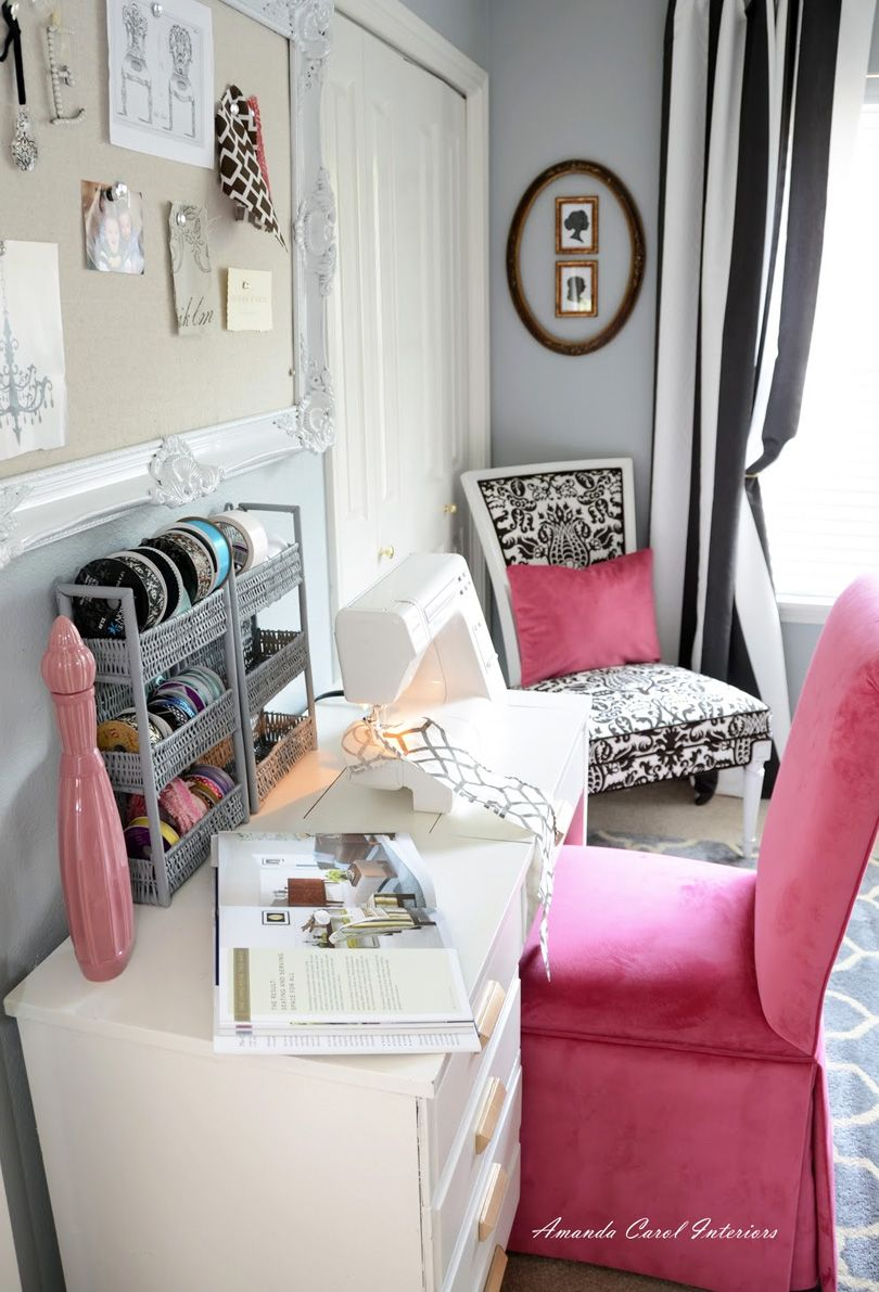 creative corner chic home office design
