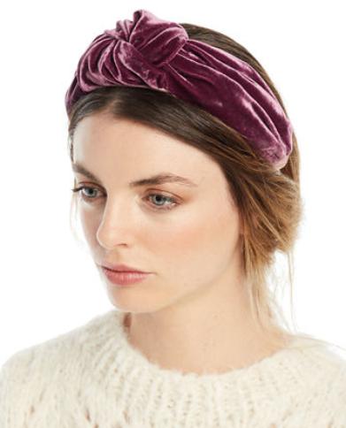 Jennifer Behr Ophelia Velvet Knotted Headband  headband  velvetheadband   jenniferbehr  knottedheadband  silkheadband 2cedf89b91d