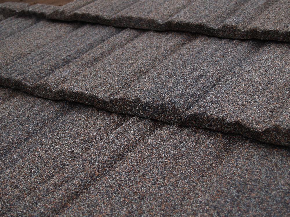 Gerard Metal Roof Canyon Shake Tile In Standard Timberwood
