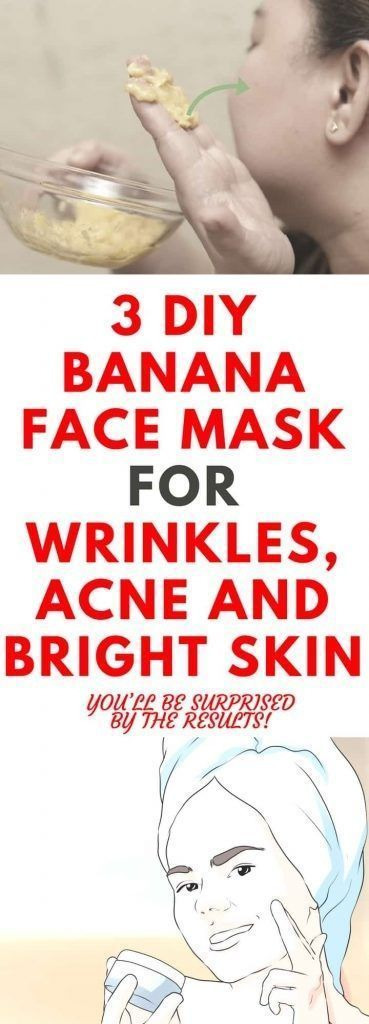 Photo of 3 DIY banana mask for acne wrinkles and clear skin forever …