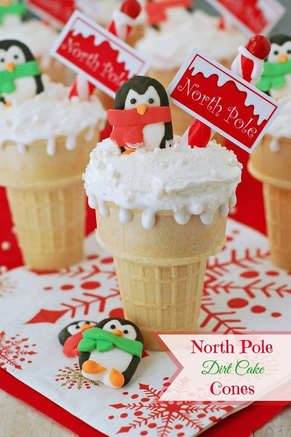 Creative and Fun Christmas Treats for Kids North Pole Dirt Cake ...