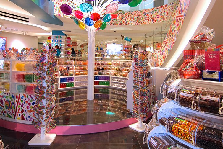 Dylan's Candy Bar Magnificent Mile Chicago Kids