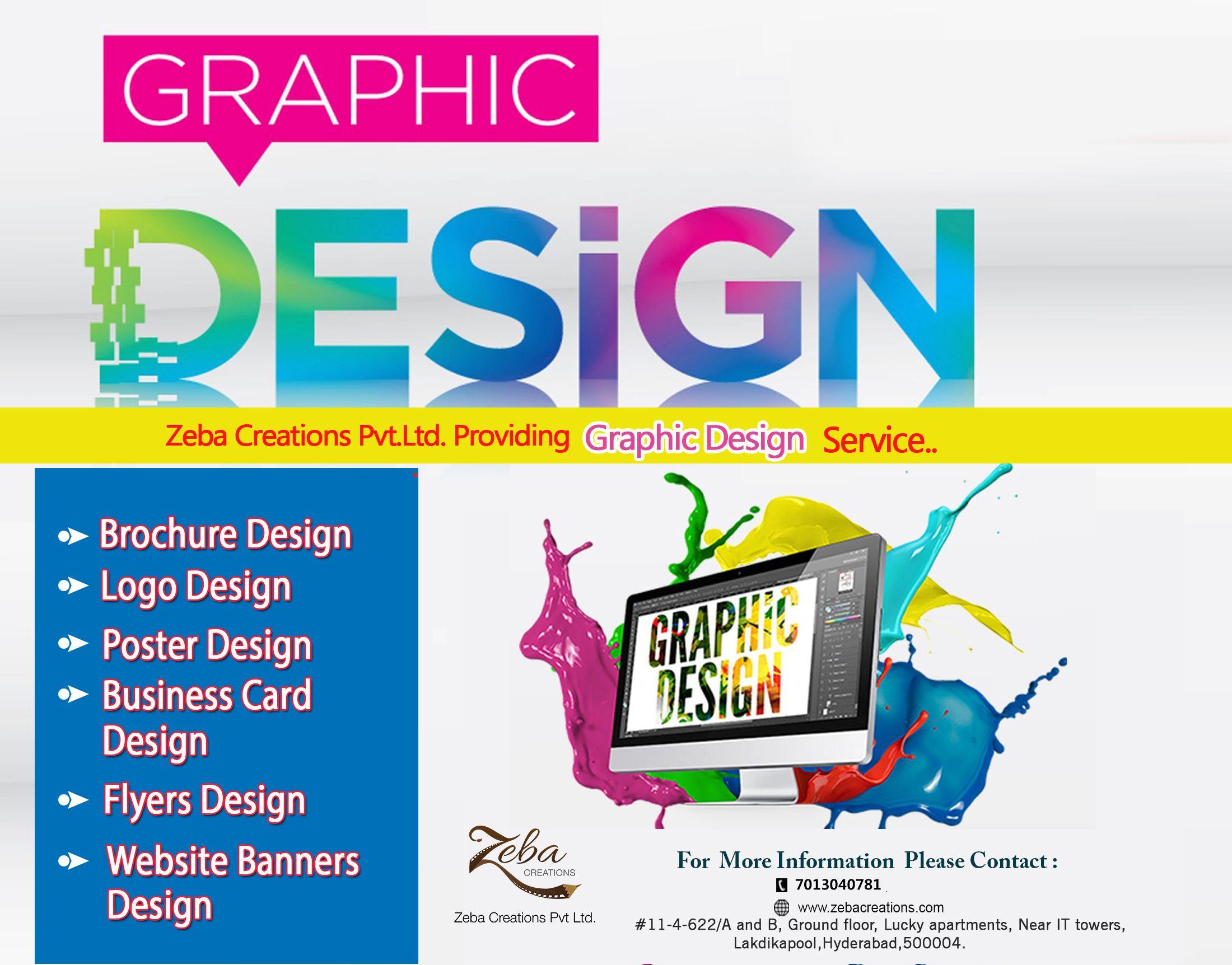 Get creative graphic design zebacreations pvt ltd